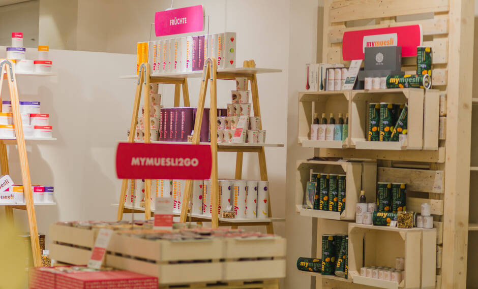 Mymuesli Pop-up-Stores
