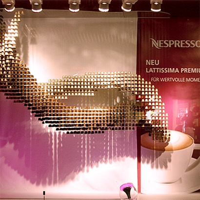 NESPRESSO SHOWCASE DESIGN
