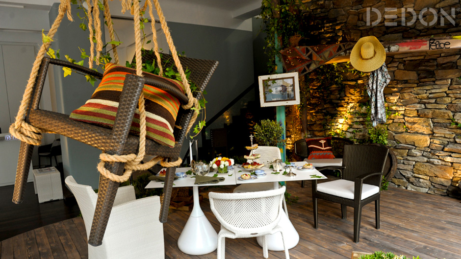 "DEDON ""COMING HOME"" SHOWROOMGESTALTUNG"