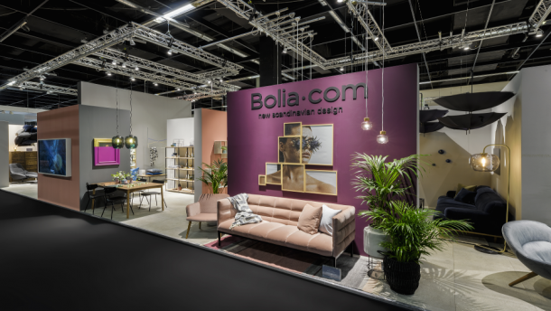 Bolia B2B-Messestand